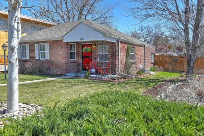 Denver Single Family Home Active: 1100 Leyden Street