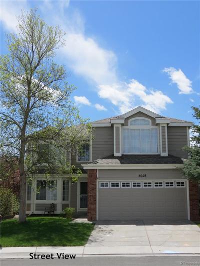 Castle Rock Single Family Home Under Contract: 5028 East Crestone Avenue