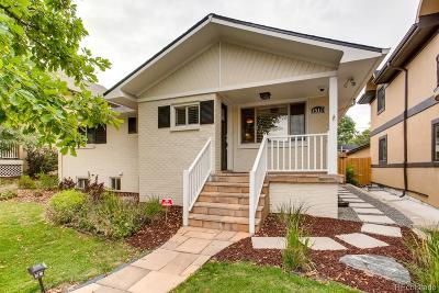 Denver Single Family Home Active: 1510 South Gaylord Street