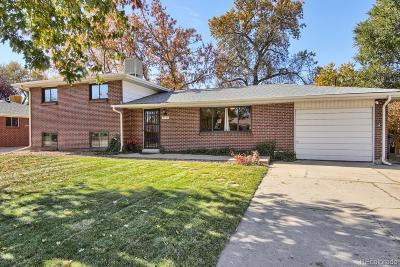 Arvada Single Family Home Active: 5173 Dover Street