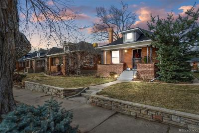 Denver Single Family Home Under Contract: 3415 Meade Street