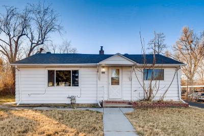 Denver Single Family Home Active: 5465 Bryant Street