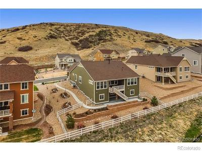 Castle Rock Single Family Home Under Contract: 898 Eveningsong Drive