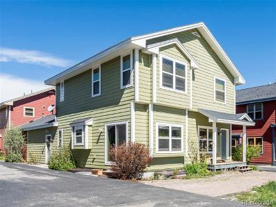 Steamboat Springs Condo/Townhouse Active: 631 Evans Street