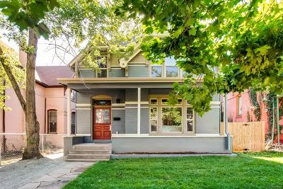 Denver Single Family Home Under Contract: 2828 North Lafayette Street