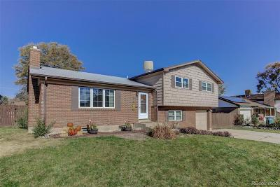 Northglenn Single Family Home Under Contract: 9931 Clark Drive