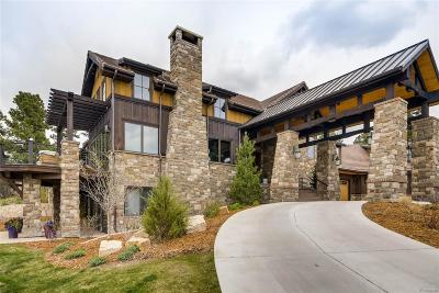 Castle Rock CO Single Family Home Active: $3,500,000