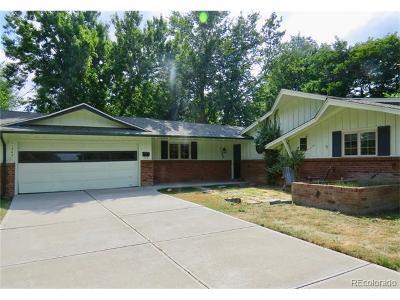Lakewood CO Single Family Home Active: $424,000