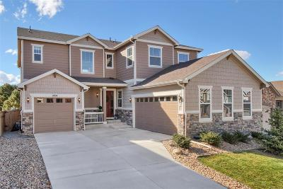 Castle Rock Single Family Home Under Contract: 2154 Treetop Drive