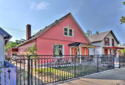 Denver Single Family Home Active: 4657 Columbine Street