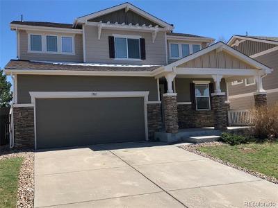 Castle Rock Single Family Home Active: 5887 Raleigh Circle