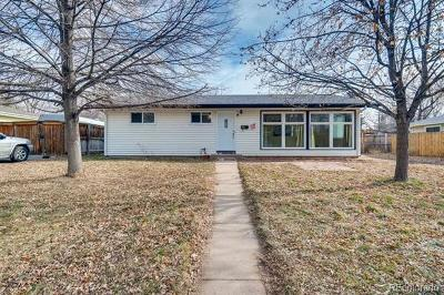 Englewood Single Family Home Active: 5050 South Galapago Street
