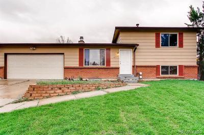 Littleton Single Family Home Active: 8719 West Euclid Place
