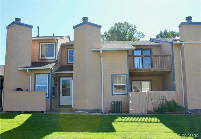 Colorado Springs Condo/Townhouse Active: 6520 Matchless Trail