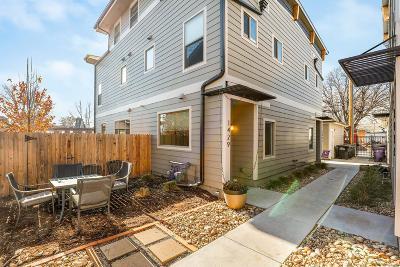 Denver CO Condo/Townhouse Active: $518,000