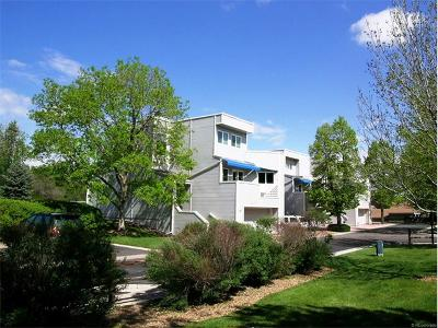Condo/Townhouse Sold: 9200 East Cherry Creek South Drive #59