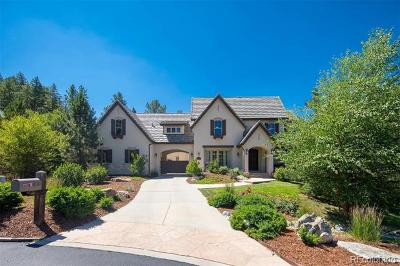 Castle Rock CO Single Family Home Active: $2,349,000