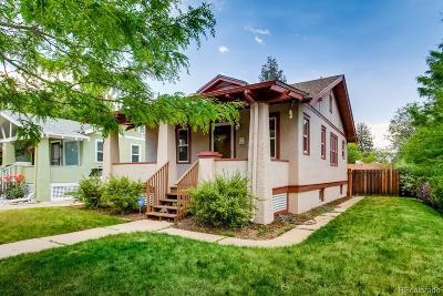 Denver Single Family Home Active: 4502 Elm Court