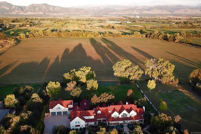 Boulder CO Single Family Home Active: $5,990,000