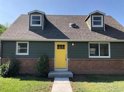 Jefferson County Single Family Home Active: 7380 West 12th Avenue