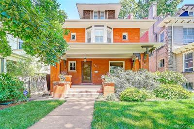 Denver Single Family Home Active: 844 North Marion Street