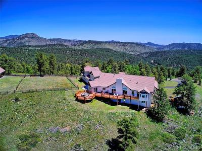 Conifer, Evergreen Single Family Home Active: 32900 Serendipity Trail