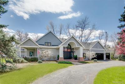 Cherry Hills Village Single Family Home Active: 5000 South Lafayette Lane