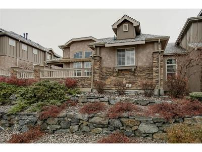 Castle Pines Condo/Townhouse Sold: 670 Sherman Street