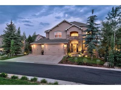 Castle Pines CO Single Family Home Sold: $775,000
