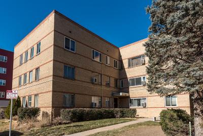 Denver Condo/Townhouse Under Contract: 1101 Bellaire Street #301