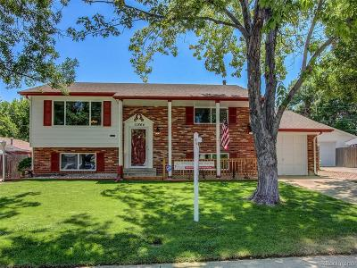 Northglenn Single Family Home Under Contract: 11864 Quam Drive
