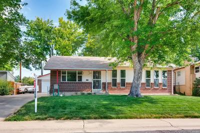 Northglenn Single Family Home Under Contract: 11652 Gilpin Street