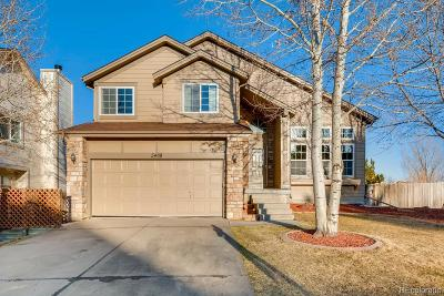 Centennial Single Family Home Active: 5468 South Gibraltar Court