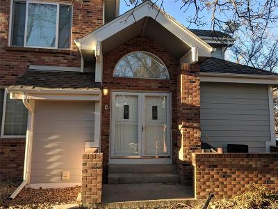 Aurora Condo/Townhouse Under Contract: 3941 South Carson Street #c