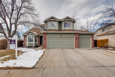 Broomfield Single Family Home Under Contract: 4745 West 127th Place