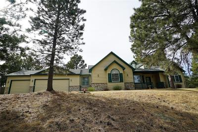 Elbert County Single Family Home Under Contract: 35595 Running Brook Lane