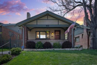 Denver CO Single Family Home Active: $660,000