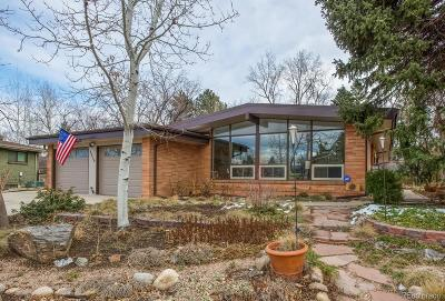 Wheat Ridge Single Family Home Under Contract: 3850 Garland Street