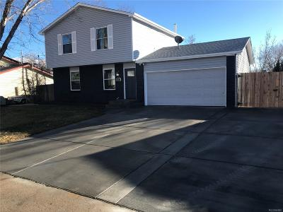 Westminster Single Family Home Active: 11212 West 107th Avenue