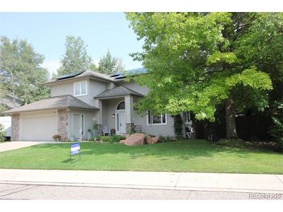 Niwot Single Family Home Active: 7917 Wellshire Court