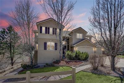 Castle Pines Single Family Home Under Contract: 6804 Esperanza Drive