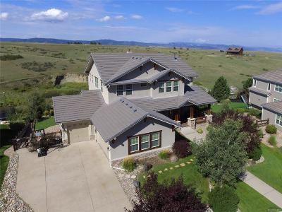 Castle Rock Single Family Home Active: 3431 Running Deer Drive