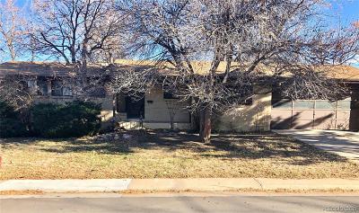 Centennial Single Family Home Under Contract: 6282 South Adams Drive