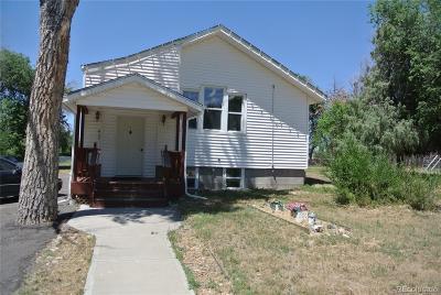 Kiowa CO Single Family Home Active: $244,500