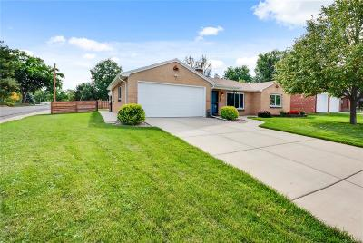 Wheat Ridge Single Family Home Under Contract: 3280 Gray Street