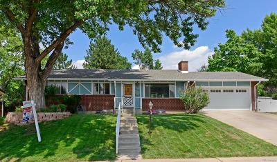 Single Family Home Under Contract: 8005 East Jefferson Place