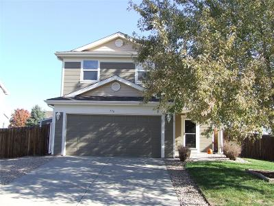 Weld County Single Family Home Active: 776 Canyon Lane
