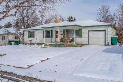 Denver Single Family Home Active: 3074 South Kearney Street