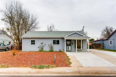 Aurora Single Family Home Active: 1280 Vaughn Street