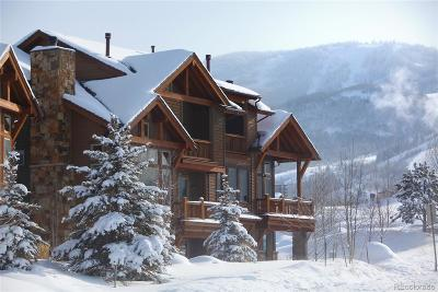 Steamboat Springs Condo/Townhouse Under Contract: 1219 All Seasons Court